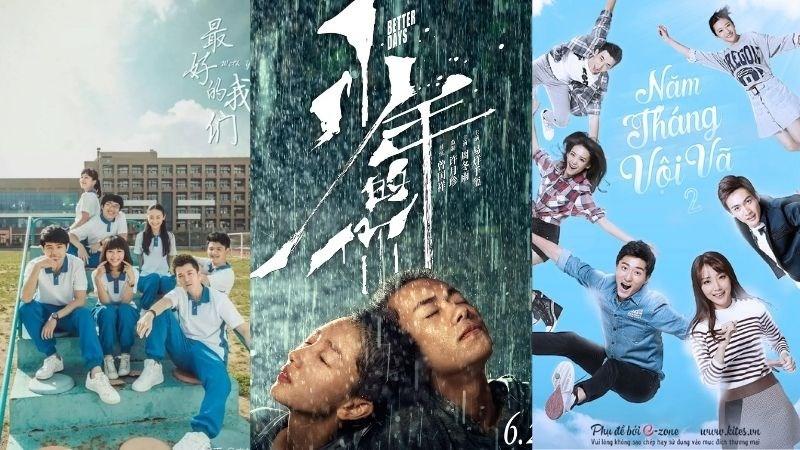 Top 10 phim lẻ thanh xuân vườn trường Trung Quốc